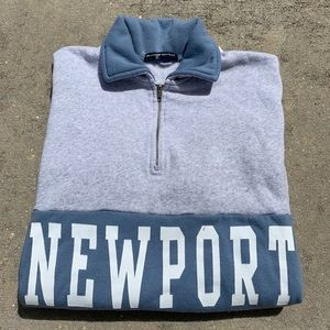 Brandy Melville Newport quarter zip pullover